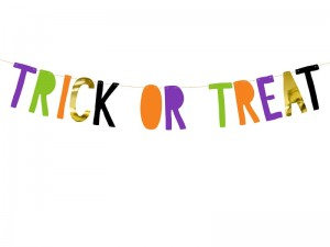 Baner Trick or Treat 13x100 cm