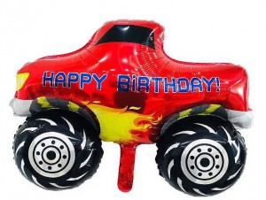 Balon Monster Truck 55x70 cm